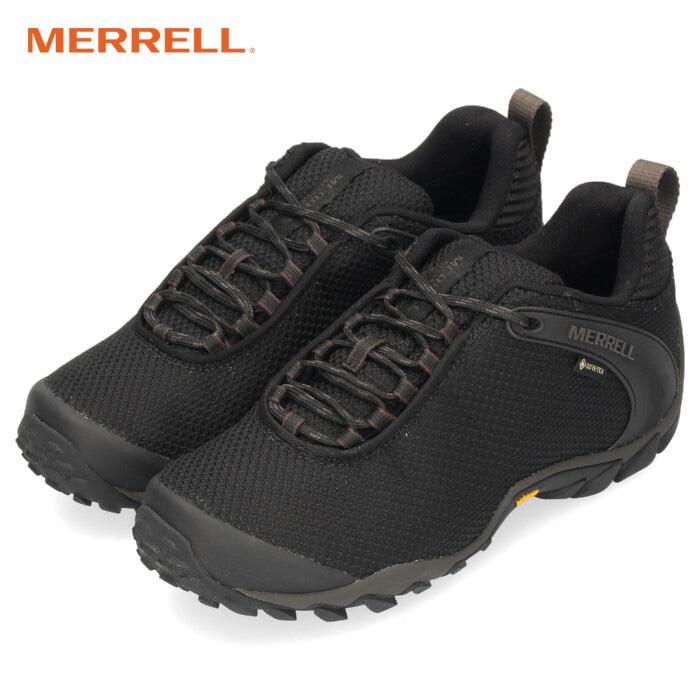 メレル カメレオン 8 ストーム ゴアテックス MERRELL CHAMELEON 8 STORM GORE-TEX J033669 レディース ハイキングシューズ ブラック