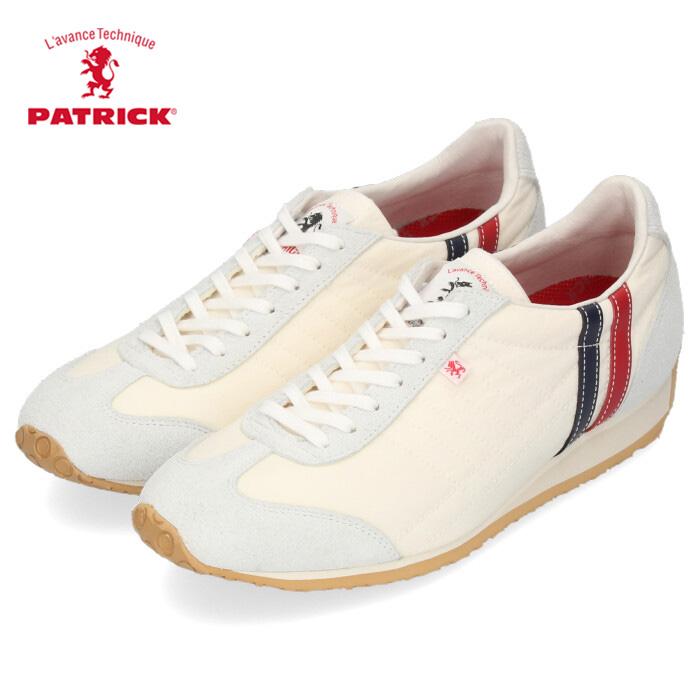 パトリック スニーカー アイリス コンブ PATRICK 502160 IRIS-CONBU レディース シューズ 靴 日本製 トリコロール ホワイト