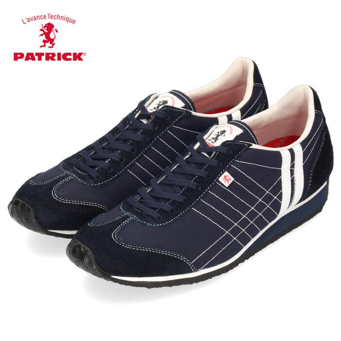 パトリック スニーカー アイリス コンブ PATRICK 502162 IRIS-CONBU メンズ レディース シューズ 靴 日本製 紺 ネイビー