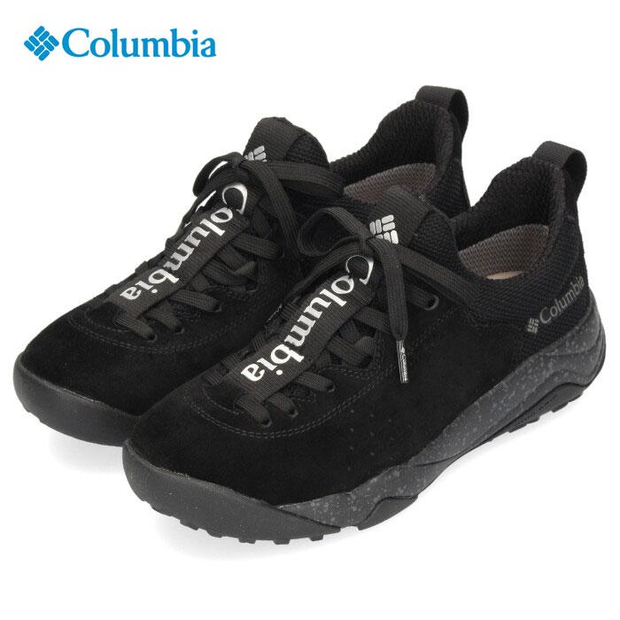 コロンビア Columbia メンズ レディース スニーカー ヘイジーレイジーレース オムニテック YU0303 010 ブラック 防水 透湿 キャンプ 黒
