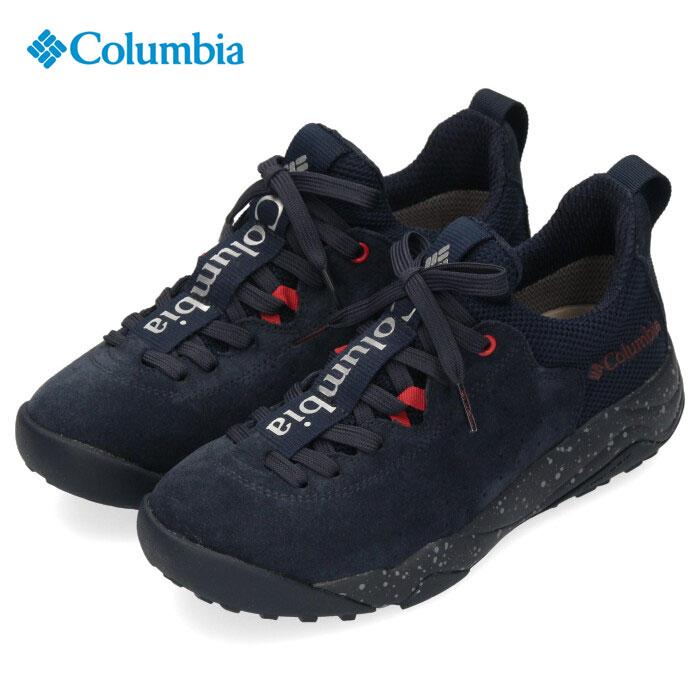コロンビア Columbia メンズ レディース スニーカー ヘイジーレイジーレース オムニテック YU0303 464 ネイビー 防水 透湿 キャンプ 紺