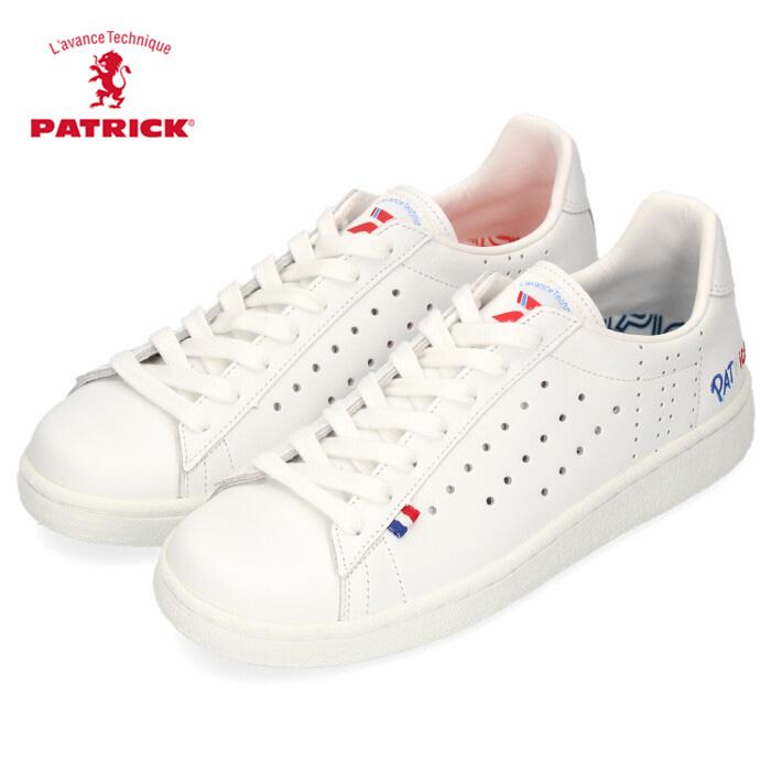 パトリック スニーカー トリコベック PATRICK 502050 TRICOBEC メンズ レディース シューズ 靴 本革 日本製 白 ホワイト トリコロール