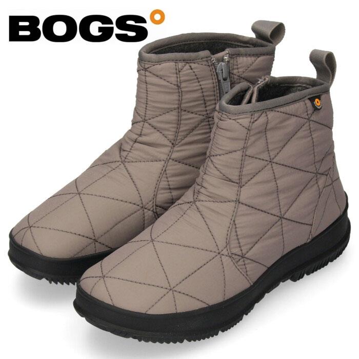 20%OFF 100%防水のハイスペックブーツ ショート丈 滑らない 保温 防寒 あたたかい スノーシューズ 抗菌 防臭 ウォータープルーフ BOGS ボグス LOW 72239 レディース SNOWDAY 防水 ショップ セール スノーデイ ロー 防滑 安値 グレー ブーツ スノーブーツ