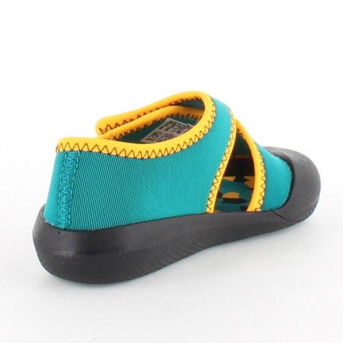 阿迪達斯阿迪達斯 SandalFun 我雷霆風扇我 AF3875 8 G-3875 孩子涼鞋水片綠