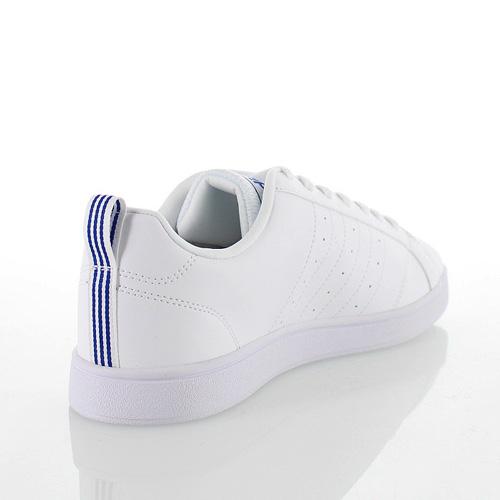 阿迪達斯新阿迪達斯新 VALSTRIPES2 F99256 FTWWHT/CBLACK/藍色婦女的運動鞋