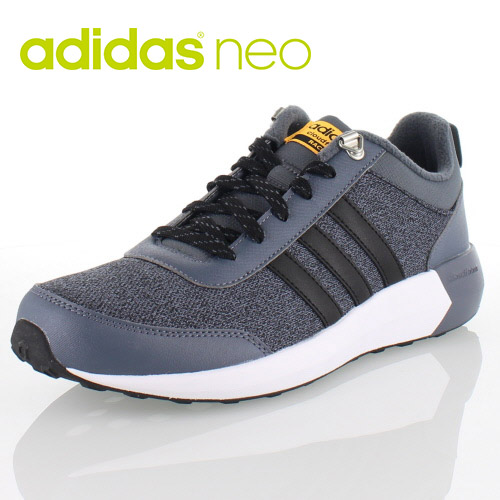 adidas cloudfoam race all black