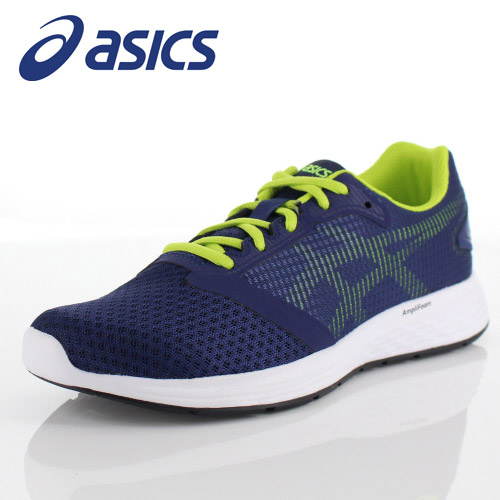 アシックス メンズ スニーカー asics パトリオット10 1011A131-400 ディープオーシャン ランニング ジョギング