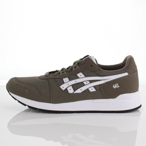 official photos 3f1a0 38db7 ASICS tiger gel light men gap Dis sneakers Asics Tiger GEL-LYTE DARK  TAUPE/WHITE TW-00026 sale