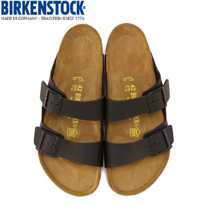 ビルケンシュトック BIRKENSTOCK アリゾナARIZONA 051791 メンズ レディース サンダル ブラック 黒 幅広 レギュラー