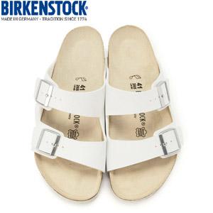 ビルケンシュトック BIRKENSTOCK アリゾナARIZONA 051731 レディース メンズ サンダル ホワイト 幅広 レギュラー
