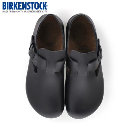 ビルケンシュトック BIRKENSTOCK ロンドン LONDON 1004303 レディース シューズ 靴 ブラック レザー 幅狭 ナロー