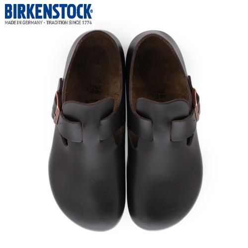 ビルケンシュトック BIRKENSTOCK ロンドン LONDON 1004304 レディース シューズ 靴 ハンターブラウン レザー 幅狭 ナローセール
