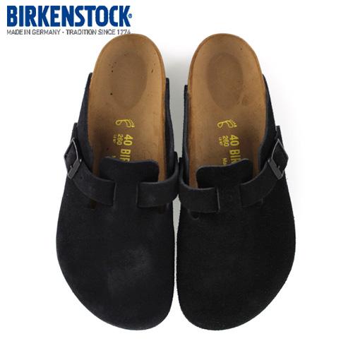 【お年玉セール特価】 ビルケンシュトック BIRKENSTOCK ボストン BOSTON BIRKENSTOCK サンダル 0060491 メンズ BOSTON サボ クロッグ サンダル 靴 ブラック スエード 本革, 雑貨カンカン:49e494e5 --- hortafacil.dominiotemporario.com