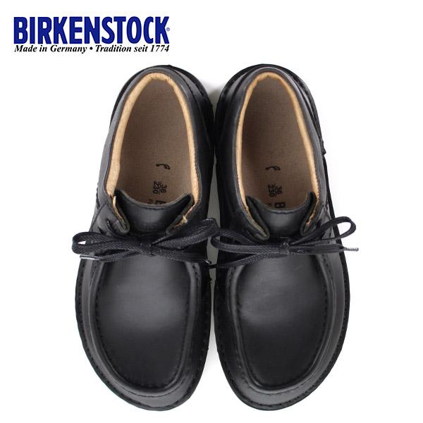 ビルケンシュトック BIRKENSTOCK パサデナ PASADENA レディース 495303 幅狭 本革 シューズ 靴 ブラック 国内正規品 セール