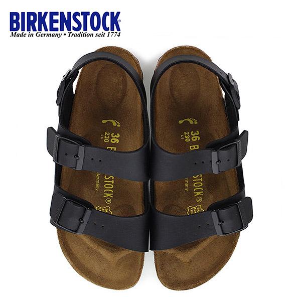 ビルケンシュトック BIRKENSTOCK ミラノ Milano 0034793 幅狭 レディース サンダル 靴 ブラック バックベルト 国内正規品