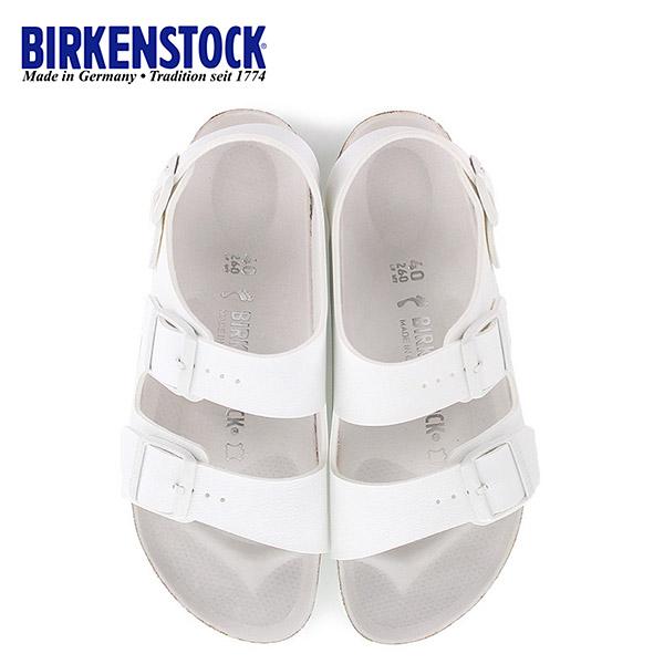 ビルケンシュトック BIRKENSTOCK ミラノ Milano BS HEX 1008074 幅狭 メンズ レディース サンダル 靴 ホワイト バックベルト 国内正規品
