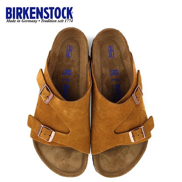 ソフトフットベッド BS ブラウン ビルケンシュトック メンズ 靴 Soft Footbed チューリッヒ 幅広 ミンク BIRKENSTOCK 1009534 Zurich サンダル 国内正規品