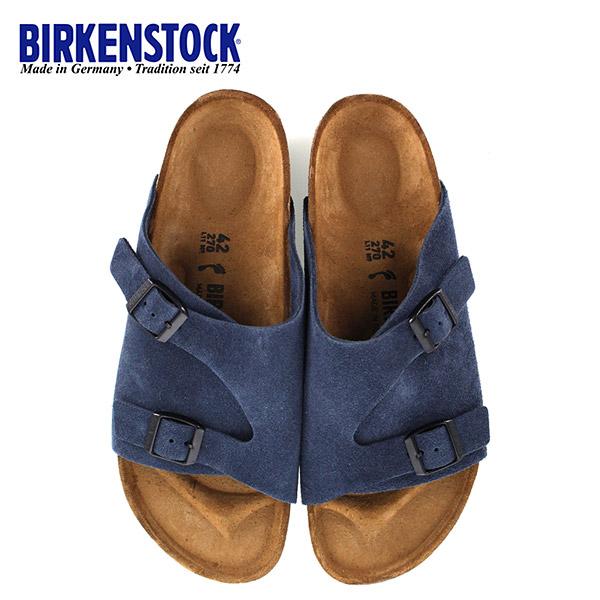 ビルケンシュトック BIRKENSTOCK チューリッヒ Zurich BS 1010755 幅狭 レディース メンズ サンダル 靴 ブルー 国内正規品