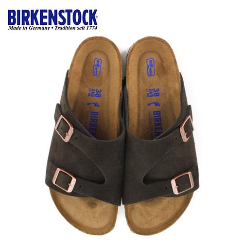 ビルケンシュトック BIRKENSTOCK チューリッヒ レディース メンズ ZURICH BS 1009531 幅狭 サンダル スエード モカ ブラウン 国内正規品