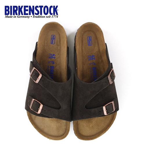 ビルケンシュトック BIRKENSTOCK チューリッヒ レディース メンズ ZURICH BS 1009530 幅広 サンダル スエード モカ ブラウン 国内正規品