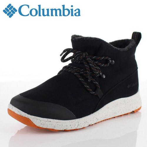 コロンビア Columbia メンズ レディース ブーツ スモールウッド2ウォータープルーフ YU3966 010 ブラック Smallwood ll Waterproof