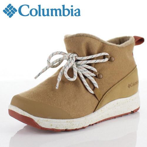 コロンビア Columbia メンズ レディース ブーツ スモールウッド2ウォータープルーフ YU3966 264 ベージュ Smallwood ll Waterproof