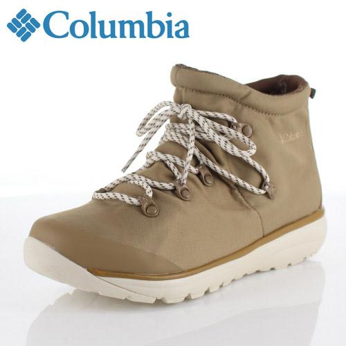 コロンビア Columbia メンズ レディース シューズ 919ミッド2オムニテック YU3980 220 ベージュ 919 Mid Omni-Tech