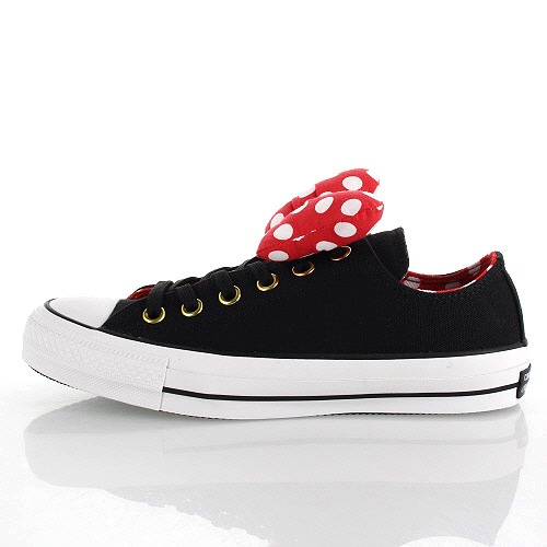 Converse CONVERSE ALL STAR 100 MINNIE MOUSE RB OX all-stars 100 Minnie Mouse RB OX 5CK851 BK-92381 Lady's sneakers