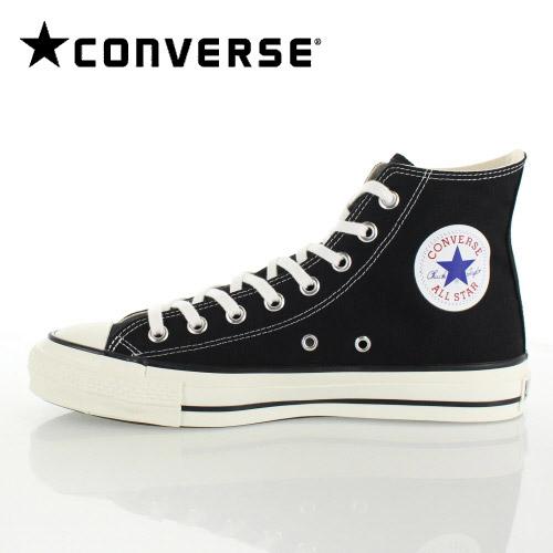 【エントリーでP5倍 4/9 20:00-4/16 1:59】 コンバース CANVAS ALL STAR J HI キャンバス オールスター J HI 01-67961 メンズ スニーカー ハイカット ブラック 黒 靴 日本製 セール