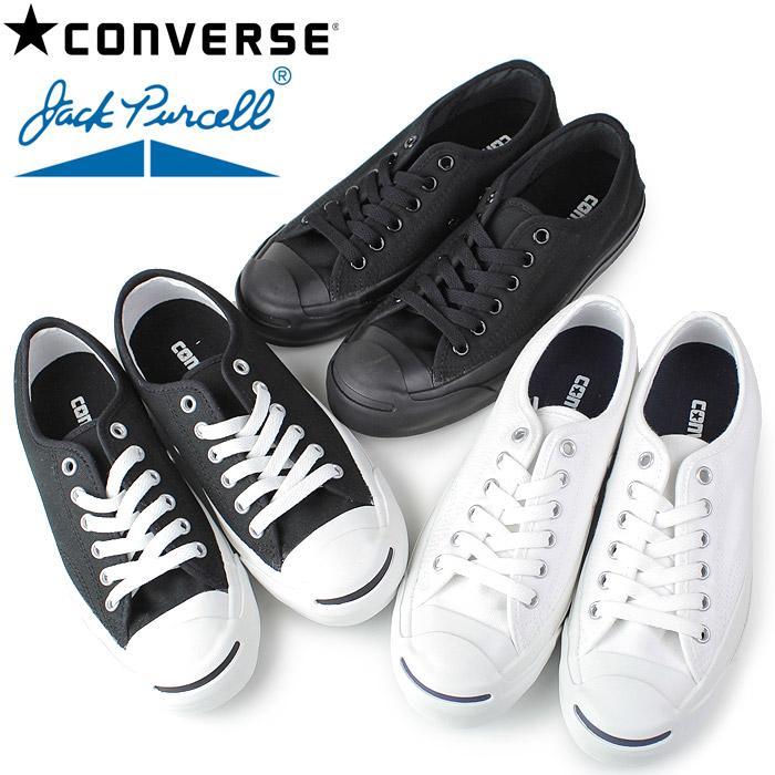 コンバース 【送料無料】 ジャックパーセル CONVERSE JACK PURCELL メンズ レディース スニーカー 白 黒 ホワイト ブラック