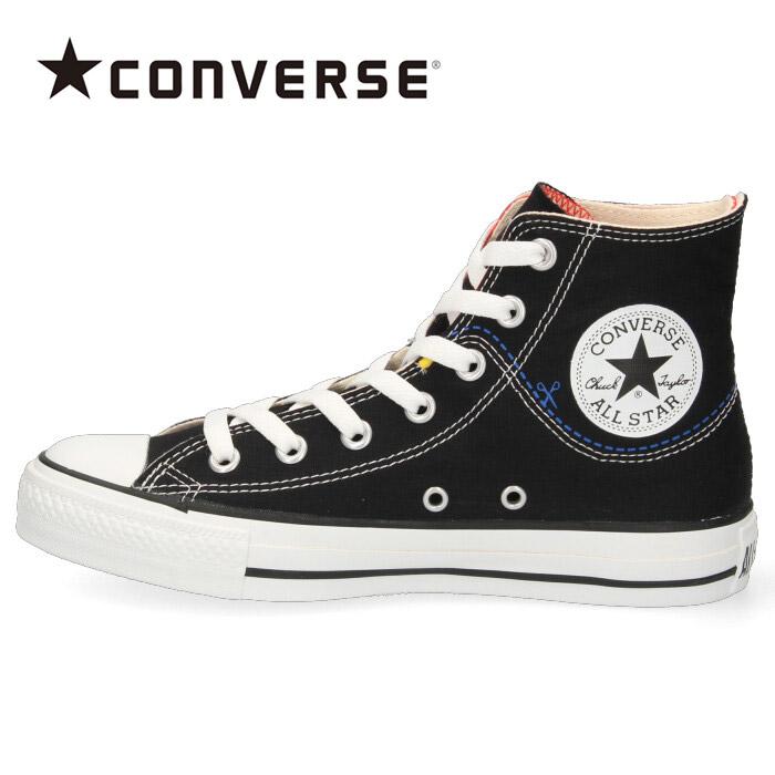コンバース レディース メンズ スニーカー オールスター カットライン HI CONVERSE ALL STAR CUTLINE HI ブラック 黒 540