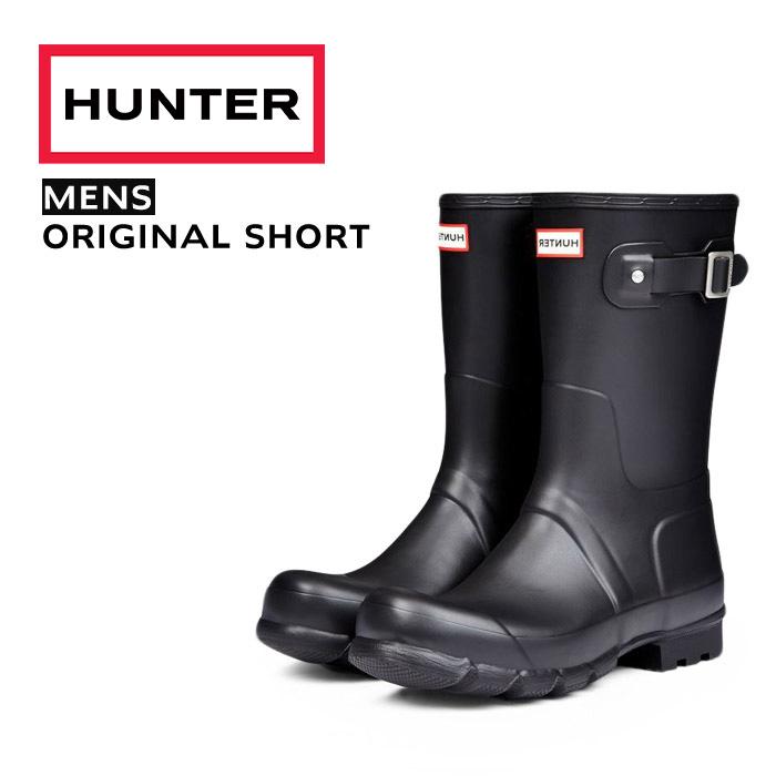 HUNTER ハンター メンズ オリジナル ショート MENS ORIGINAL SHORT 9000 MFS9000RMA ブラック BLACK