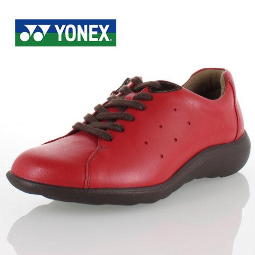 YONEX ヨネックス 靴 SHW-LC82 パワークッション シューズ ウォーキング レッド レディース
