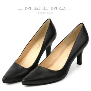 激安正規  MELMO 靴 メルモ パンプス 靴 メルモ 黒 6921 ヒール 本革 2E 抗菌 防臭 本革 フォーマル ブラック, ジャンプファミリー:8201082c --- hortafacil.dominiotemporario.com