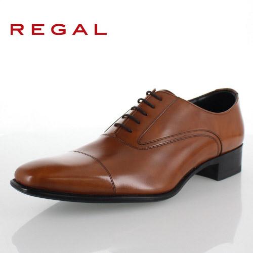 【エントリーでP5倍 4/9 20:00-4/16 1:59】 REGAL リーガル 靴 メンズ 725R AR BR 本革 ビジネスシューズ ストレートチップ 内羽根式 ブラウン 紳士靴 日本製 特典B