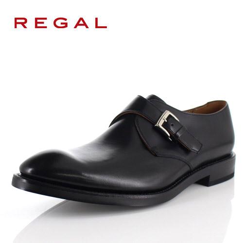 リーガル REGAL 靴 メンズ ビジネスシューズ 07RRBG ブラック モンクストラップ 紳士靴 日本製 本革