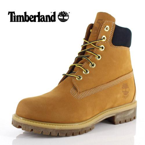 ティンバーランド Timberland メンズ ブーツ シックスインチ プレミアム ウォータープルーフ A1VXW ウィート ブラウン 靴 ヌバック 防水