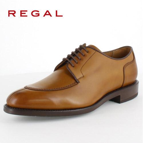 リーガル REGAL 靴 メンズ ビジネスシューズ 03KR BH ブラウン Uチップ 外羽根式 紳士靴 日本製 2E 本革 セール