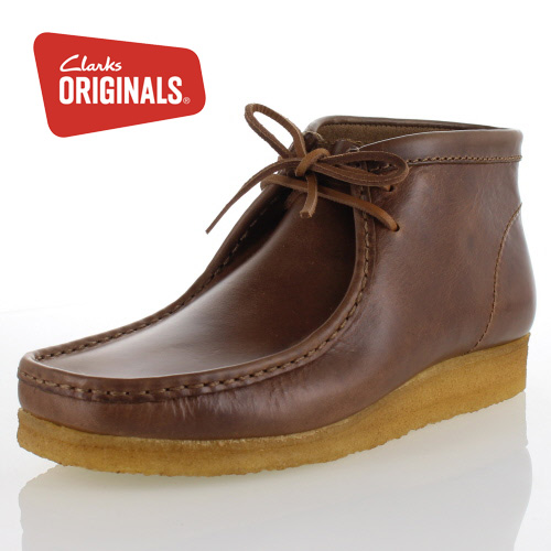 Clarks originals men's Clarks ORIGINALS Wallabee Boot 649E Wallaby boots  Camel Leather genuine casual boots shoes