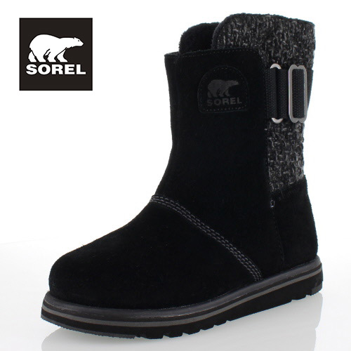 SOREL Rylee NL2370 010 Black ソレル ライリイ レディース ブーツ 防水設計