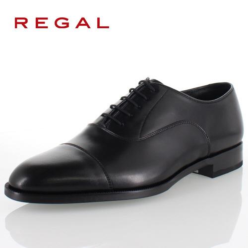 リーガル REGAL 靴 メンズ ビジネスシューズ 11KR BD ブラック ストレートチップ 内羽根式 紳士靴 日本製 3E 本革