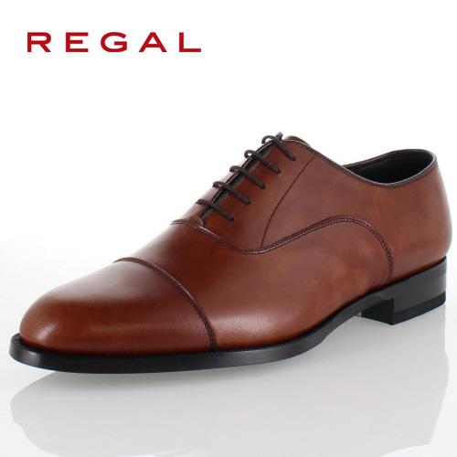 リーガル REGAL 靴 メンズ ビジネスシューズ 11KR BD ブラウン ストレートチップ 内羽根式 紳士靴 日本製 3E 本革 特典B