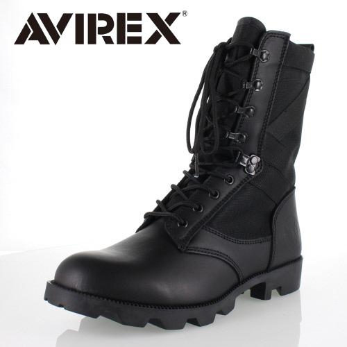 アビレックス AVIREX COMBAT AV2001 BLACK コンバットブーツ ミリタリーブーツ ブーツメンズ レディース