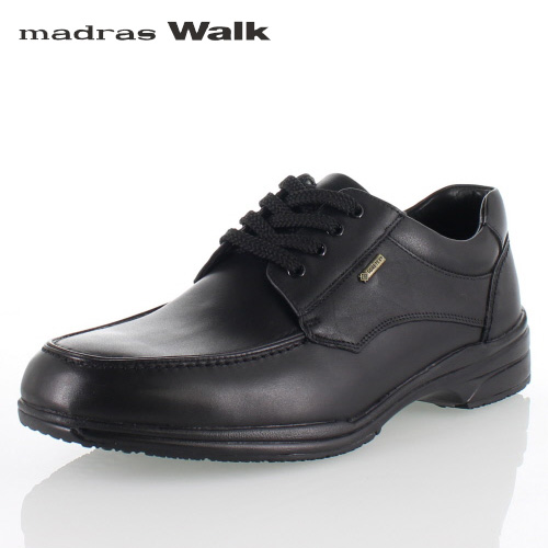 madras Walk マドラスウォーク SPMW5480 BLA ゴアテックス メンズ ビジネスシューズ カジュアルシューズ 防水 防滑 革靴 4E