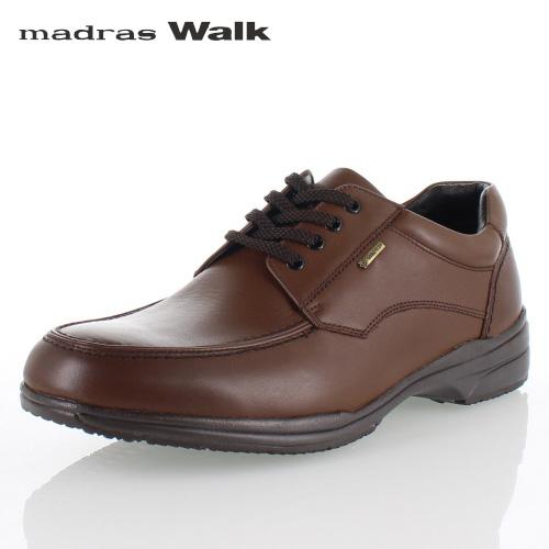 【エントリーでP5倍 4/9 20:00-4/16 1:59】 madras Walk マドラスウォーク SPMW5480 BRN ゴアテックス メンズ ビジネスシューズ カジュアルシューズ 防水 防滑 革靴 4E