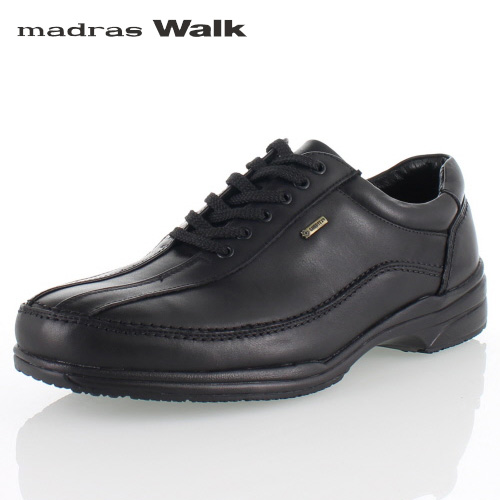 madras Walk マドラスウォーク SPMW5481 BLA ゴアテックス メンズ ビジネスシューズ カジュアルシューズ 防水 防滑 革靴 4E