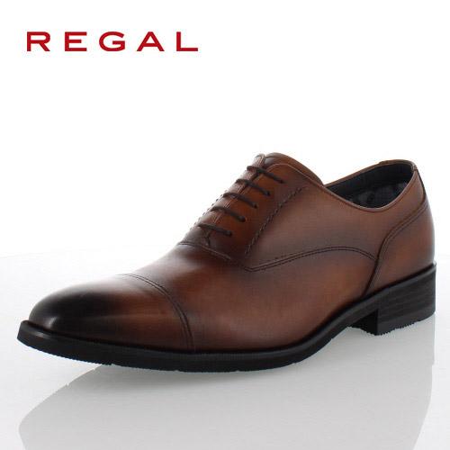 リーガル REGAL 靴 メンズ ビジネスシューズ 35HRBB ブラウン ストレートチップ 内羽根式 紳士靴 日本製 3E 本革 防水 特典B