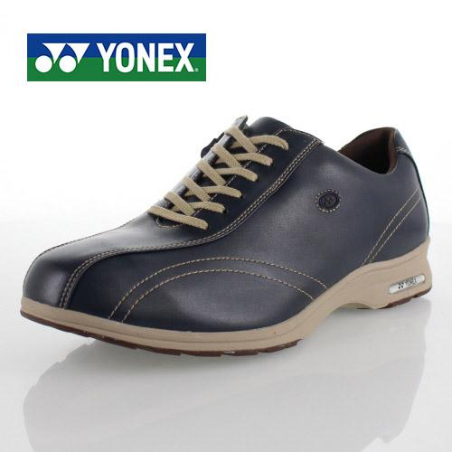 ヨネックス パワークッション メンズ カジュアル YONEX SHW-MC30W ネイビーブルー スニーカー ウォーキング 軽量 男性用 靴
