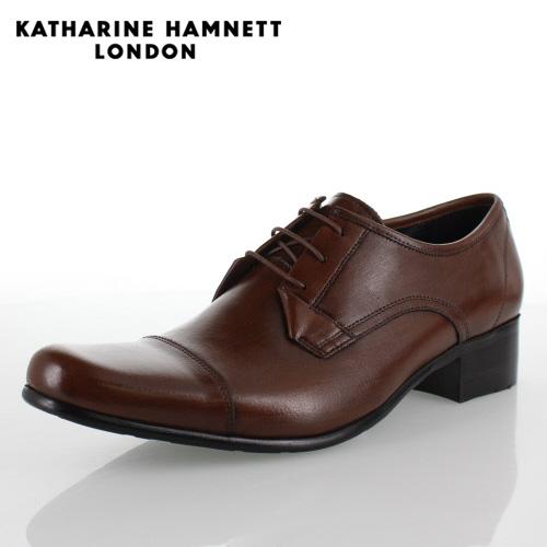 KATHARINE HAMNETT LONDON キャサリンハムネット 31441 メンズ ビジネスシューズ ブラウン 【取寄せ】