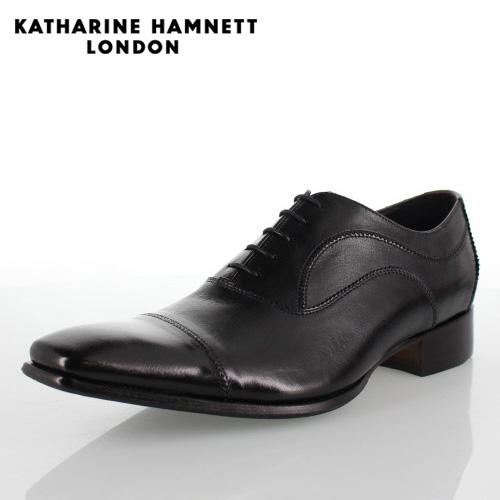 激安直営店 KATHARINE HAMNETT メンズ LONDON KATHARINE キャサリンハムネット 31504 メンズ ビジネスシューズ ブラック 黒 ブラック【取寄せ】, ブドウショップ:957aea32 --- supercanaltv.zonalivresh.dominiotemporario.com